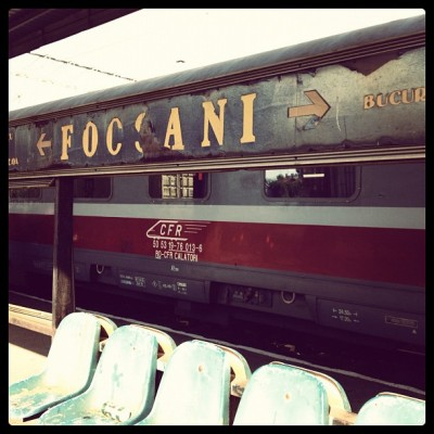Focscani, Romania, Train Station, Charlie Grosso