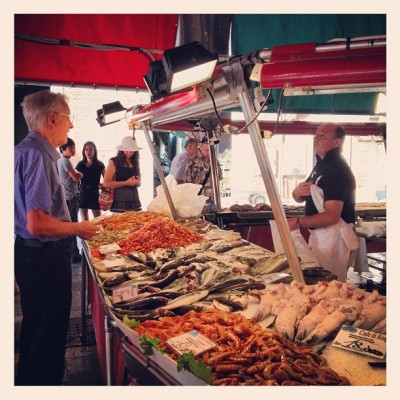 Rialto Fish Market, Venice, Italy, by Charlie Grosso
