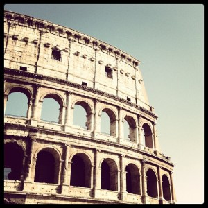 Colosseum, Rome, Italy, by Charlie Grosso