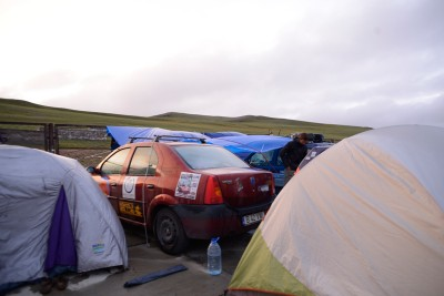 The Mongol Rally Refugee Camp at The Mongolian Border, Charlie Grosso