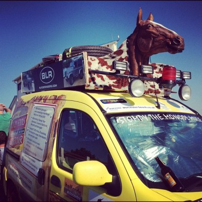 Only Fools and Horse Power, Mongol Rally, by Charlie Grosso
