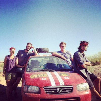 Mongol Rally Turkmenistan Convoy, by Charlie Grosso