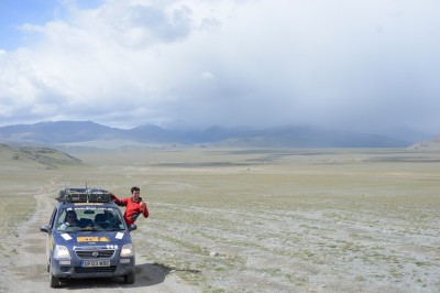 Mongol Rally, Men Who Stared Camels, by Charlie Grosso