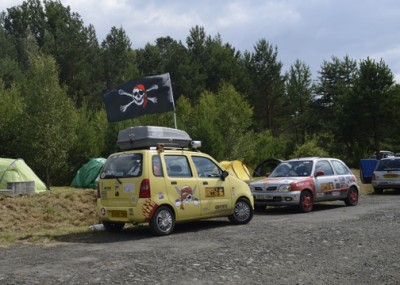 The Scallywag, Mongol Rally, by Charlie Grosso