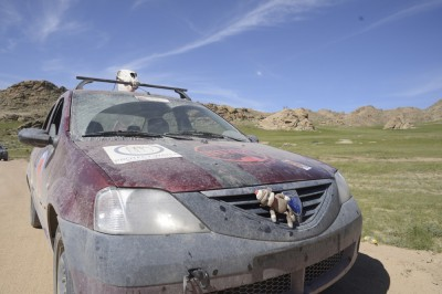 The Mighty Irina, Mongol Rally, by Charlie Grosso