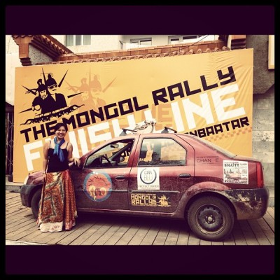 The Finish Line, Mongol Rally, Charlie Grosso