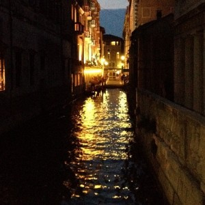 Venice at Night, by Charlie Grosso
