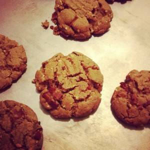 Bacon Peanut Butter Cookies, by Charlie Grosso